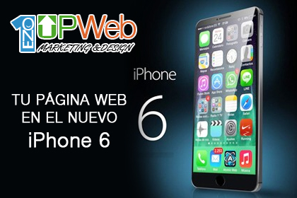 Tu página web en el nuevo iphone6