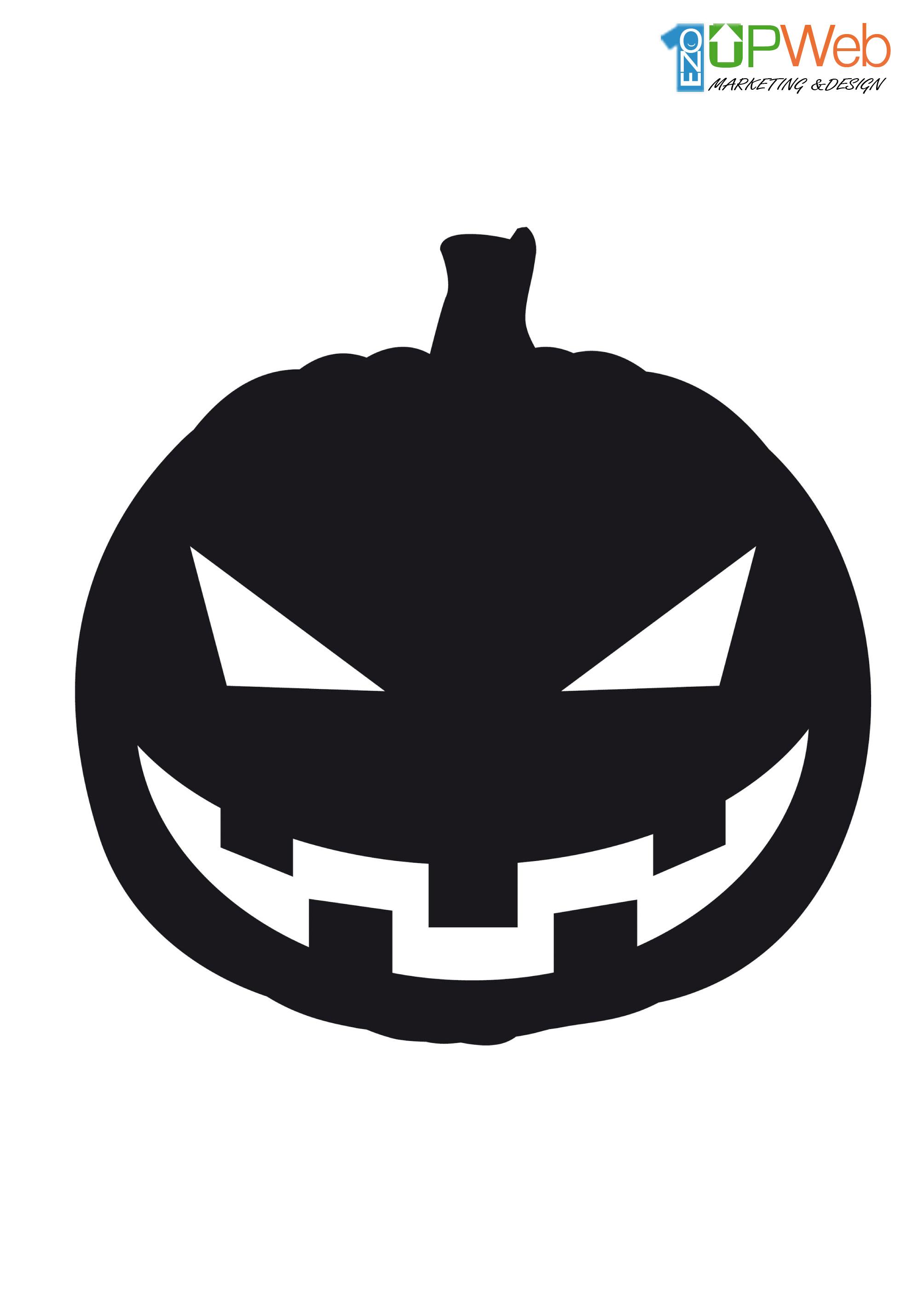 Plantillas para halloween dise o de paginas web - Plantillas para decorar calabazas halloween ...