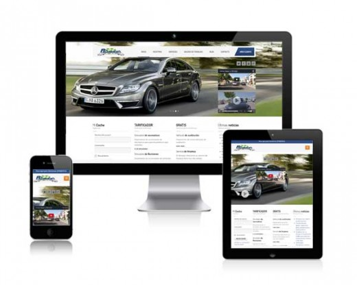 Página web Taller Bimotor