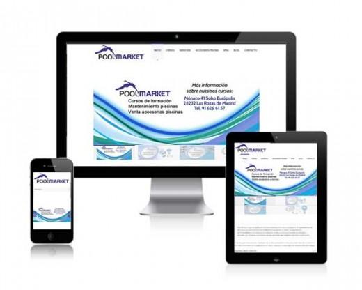 Página web PoolMarket