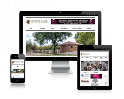 Página web Ayuntamiento de Azagra