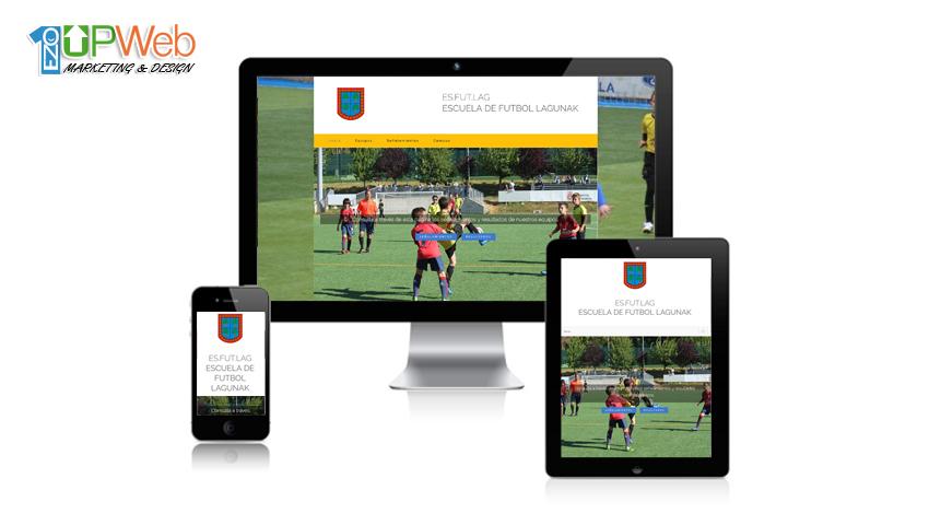 Página web futbol lagunak