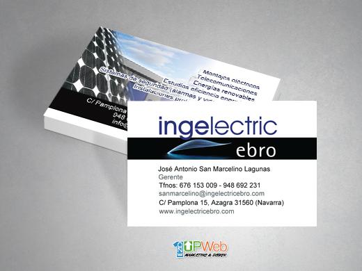 Tarjetas de visita Ingelectric Ebro