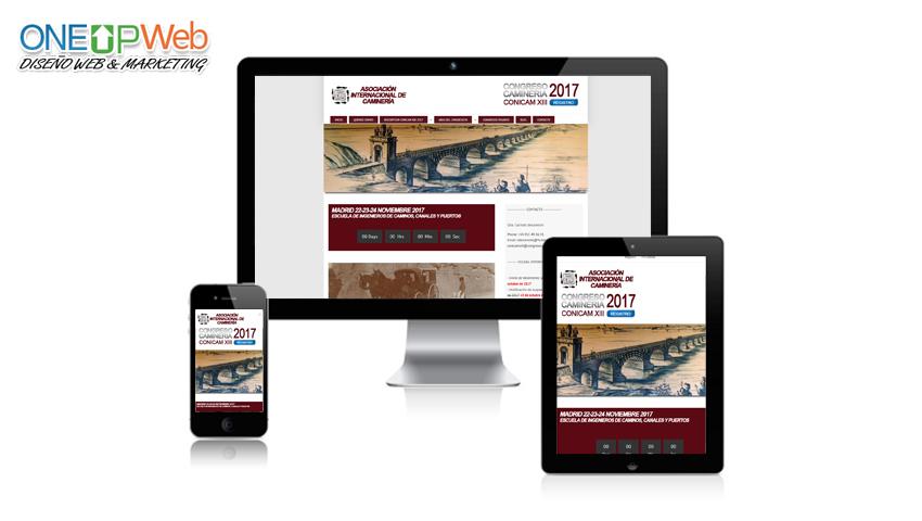 Pagina web congreso camineria UPM