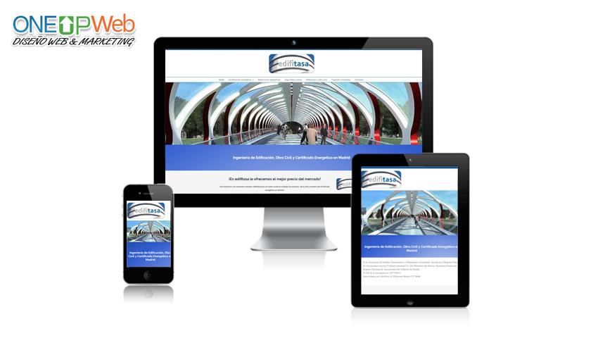 Pagina web edifitasa