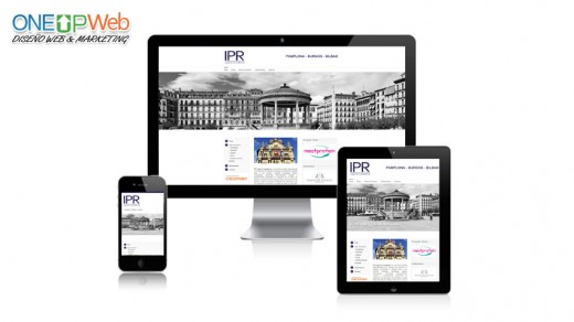 diseño-paginas-web-ipr-legal-pamplona-abogado-oneupweb
