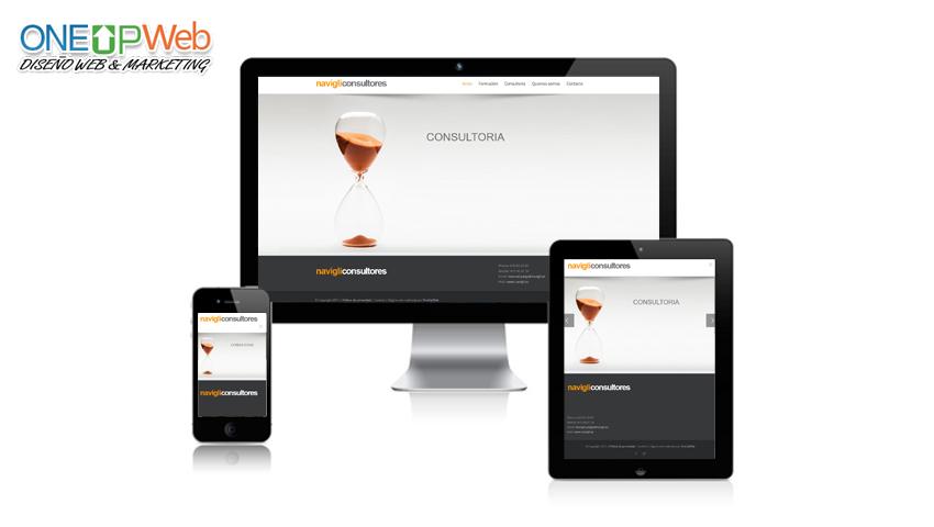 Pagina web NAVIGLI CONSULTORES