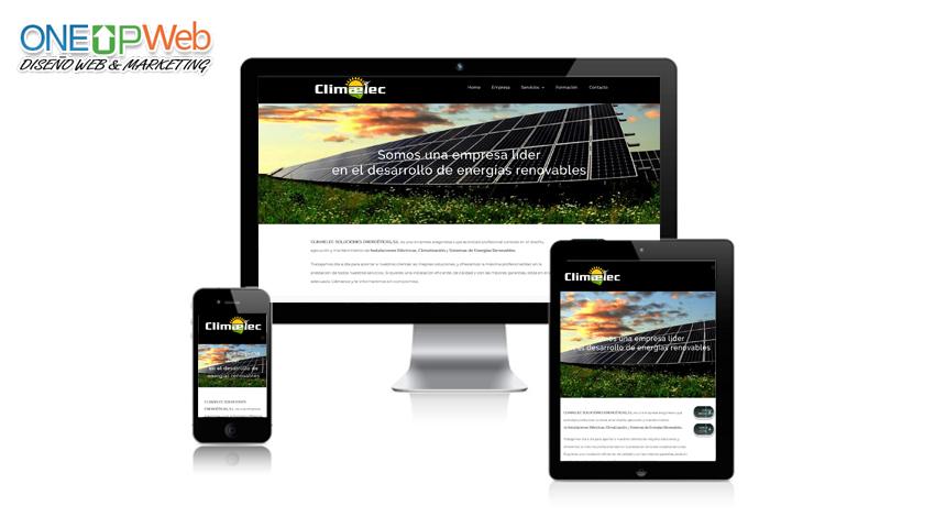 Pagina web Climaelec Zaragoza